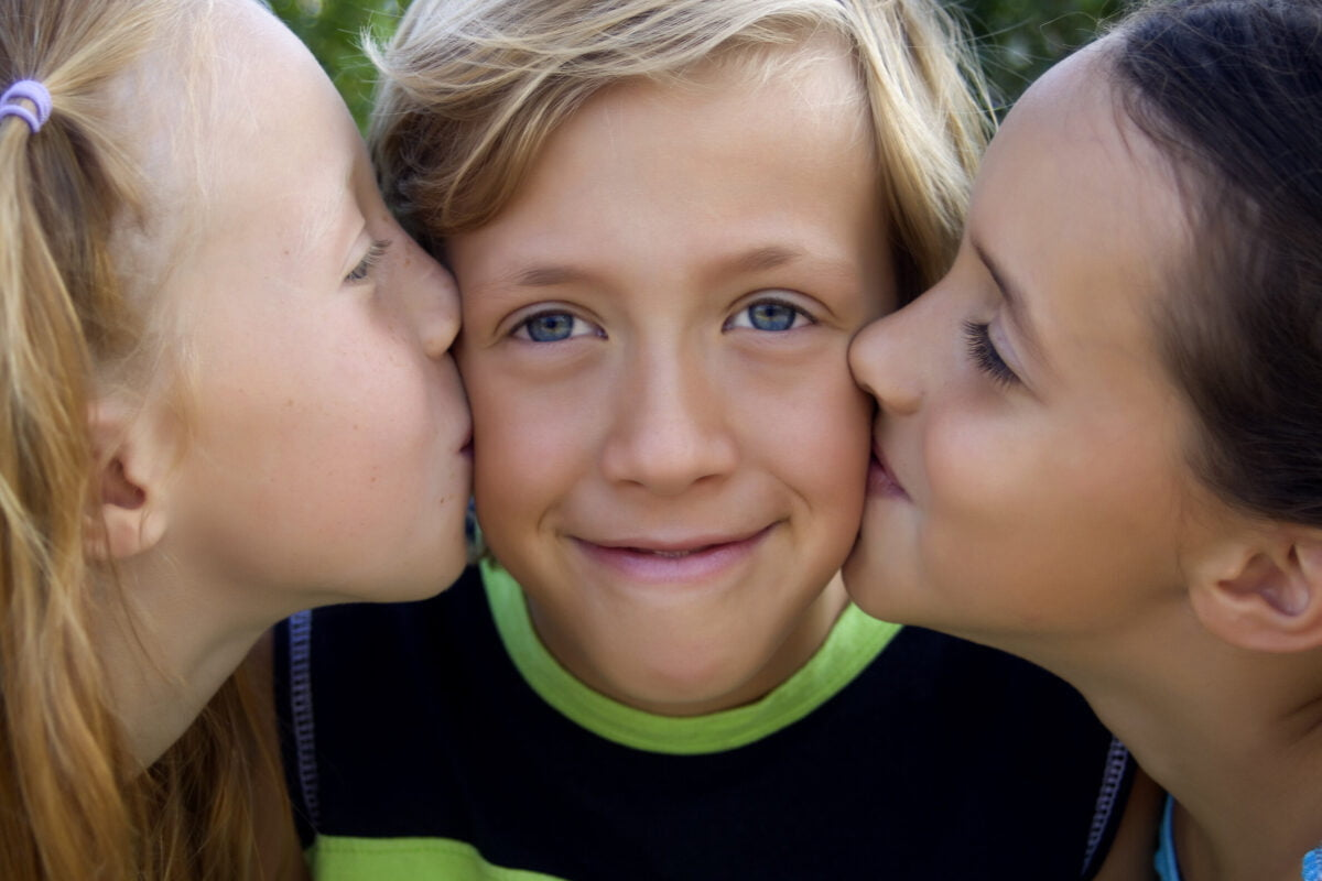 Forming femininity and masculinity in children and adolescents